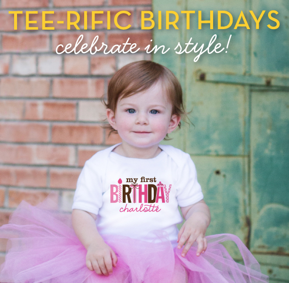 PERSONALIZED BIRTHDAY SHIRTS FOR GIRLS