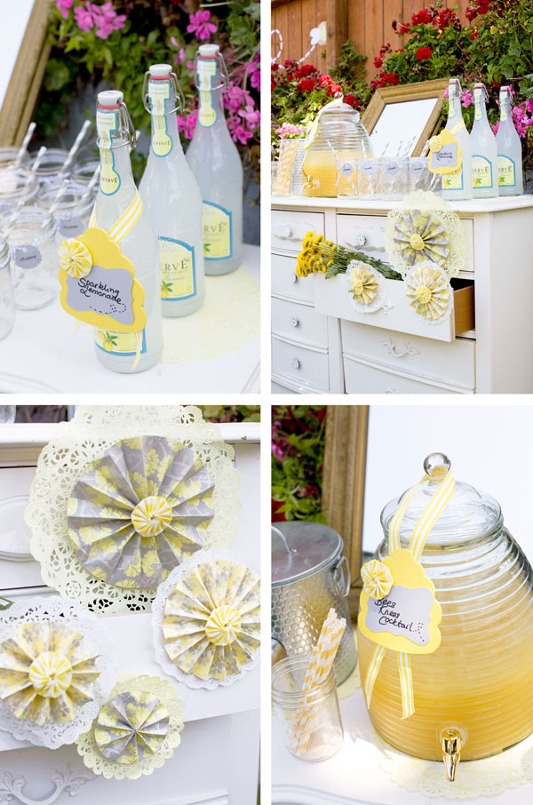 Plan your baby shower with summer in mind!  Think fun, summer themes to keep your baby shower and personalized baby gifts bright and sunshiny! | Petite Lemon