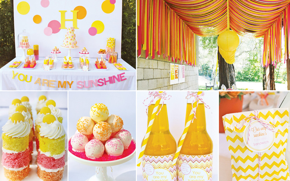 Personalized Baby Gifts Summer Party Themes